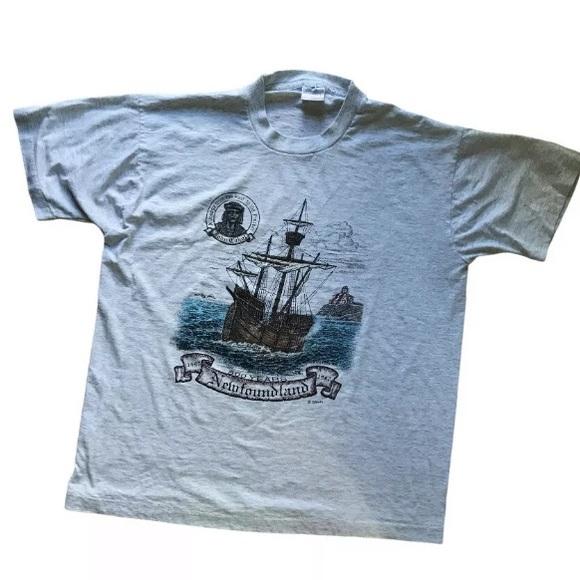 Vintage Newfoundland Quincentennial Tshirt